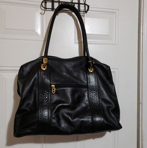 Genuine leather Marino orlandi shoulder bag